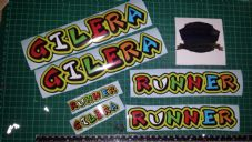 Gilera Runner Decal/Stickers EXCLUSIVE VALENTINO ROSSI SYLE sp vx fx vxr 125 172
